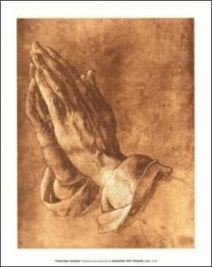Mains de Dürer 2